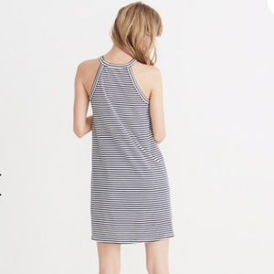NWT Madewell District Dress in Stripe
